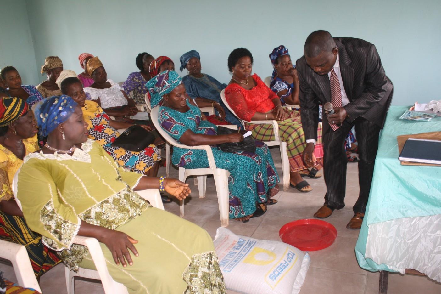 Training Session for rural women
